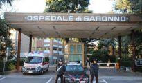 Hospital Saronno, donde tuvieron lugar los asesinatos