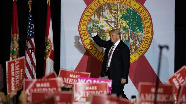 Donald Trump en Florida