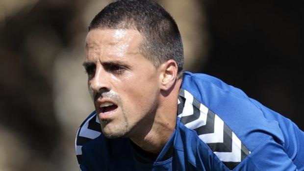 Vitolo, centrocampista del Tenerife