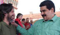 Alfredo Serrano y Nicolás Maduro