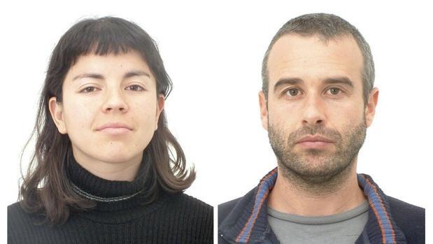 Imagen de los dos anarquistas que pusieron el artefacto explosivo en la Basílica del Pilar -
