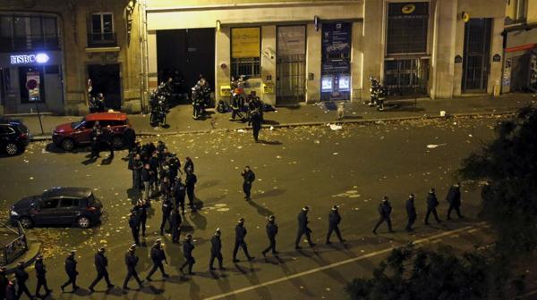 Le Bataclan, la noche del atentado