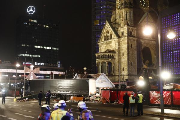 Otro camión, esta vez, en Berlín