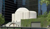 La Saint Nicholas National Shrine del World Trade Center de Nueva York tiene una estructura de estilo bizantino que fue ideada por Calatrava en el año 2013
