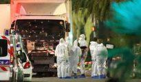 El camión con el que se ejecutó la masacre de Niza