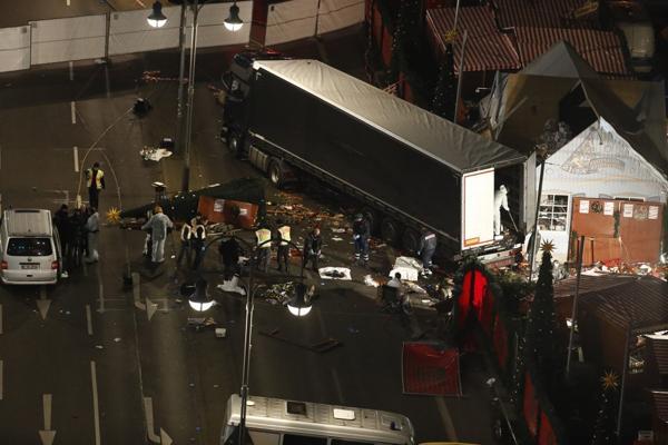 Un terrorista arremetió con un camión contra un mercado en Berlín y mató a 12 personas el pasado 19 de diciembre