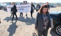 Carmen Marín, a su salida del juicio.
