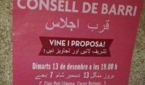 Uno de los carteles editados por el Ayuntamiento de Barcelona (ABC)