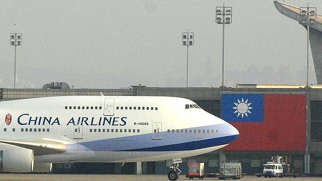 Un avión de la compañía «China Airlines»
