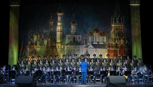El coro Alexandrov del Ejército ruso