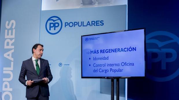 Fernando Martínez-Maillo presentó hace días las líneas maestras de los futuros estatutos del PP