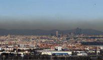 Las Cuatro Torres, dentro de la boina de contaminación
