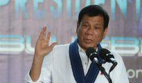 El presidente filipino, Rodrigo Duterte