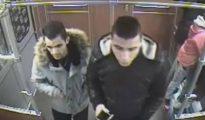 Las cámaras de seguridad grabaron a los sospechosos de intento de homicidio