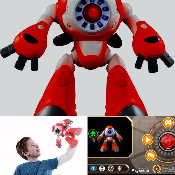"""El robot inteligente """"I-Que"""" es otro de los juguetes investigados fabricados por Genesis Toys con base en Hong Kong"""