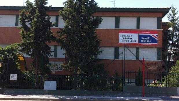 El colegio público Federico García Lorca de Majadahonda