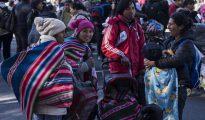 Marcha federal en Puerto Madero, uno de los barrios más exclusivos de la capital argentina