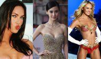 Megan Fox, Angelababy y Candice Swanepoel (de izquierda a derecha)