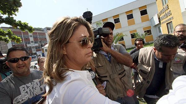 Françoise Amiridis , viuda del embajador de Grecia muerto en Brasil