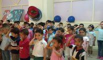 Niños marroquíes en una guardería.