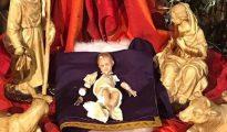 El Niño Jesús que ha sido destrozado en el Misterio de un templo de Linares (Jaén)