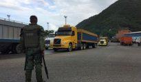 El Ejército venezolano controla el proceso de distribución de alimentos