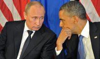 Foto de archivo tomada el 18 de junio de 2012 del presidente Obama y su homólogo Putin