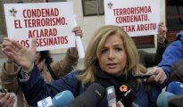 La presidenta del Colectivo de Víctimas del Terrorismo en el País Vasco (Covite), Consuelo Ordóñez.
