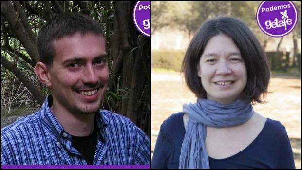 Daniel Pérez y Ana Isabel Calcerrada
