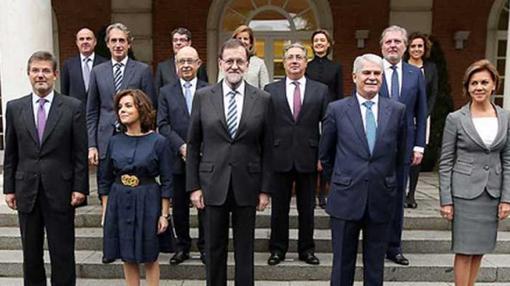 Los ministros del nuevo Ejecutivo de Mariano Rajoy