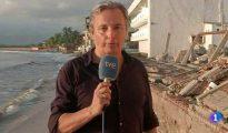 El periodista de TVE española Vicenç San Clemente