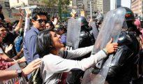 Protesta de los antitaurinos en Colombia.
