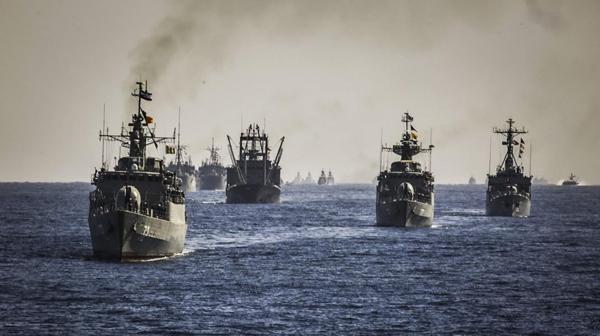 Buques de la marina iraní