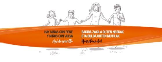 Imagen de la campaña adaptada a las condiciones de Facebook