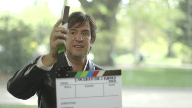 Captura de «Manolo Tena, un extraño en el paraíso», emitido en RTVE en el programa «Imprescindibles»