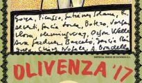 Cartel pintado por Sabina para la Feria de Olivenza