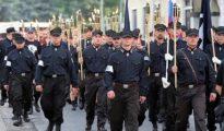 Miembros del Partido Popular Nuestra Eslovaquia.