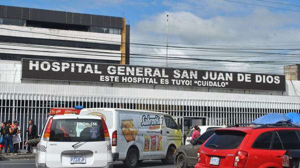 Hospital San Juan de Dios en Guatemala