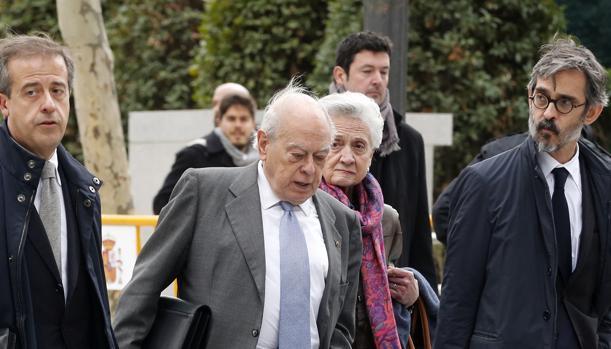 El expresidente de la Generalitat Jordi Pujol, en la Audiencia Nacional -