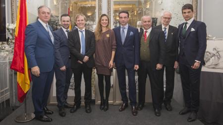 Juan Lamarca, Joserra Lozano, Enrique Romero, Ana Núñez, Enrique Ponce, Juan Ramón Romero, Andrés Amorós y José María Manzanares
