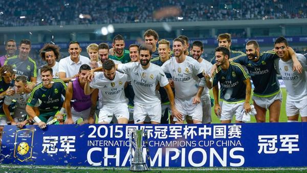 El Real Madrid, el club más importante del mundo, suele participar en época de pretemporada de torneos amistosos para imponer su marca en un mercado creciente