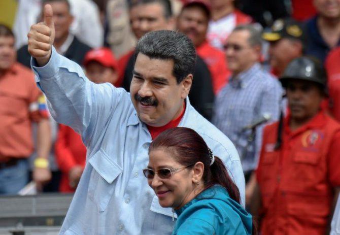 Nicolás Maduro, en un acto del Gobierno venezolano.
