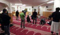 Interior de una mezquita en Vitoria.