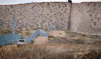 El muro que hoy separa la frontera de Estados Unidos con México
