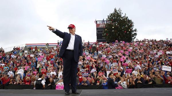 El muro es una de las principales promesas de Trump