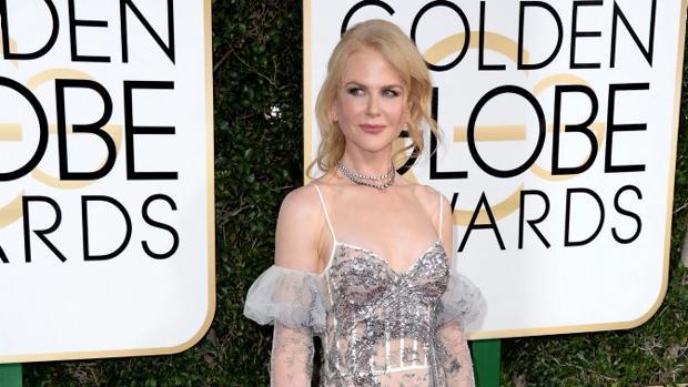Nicole Kidman, en la pasada ceremonia de los Globos de Oro