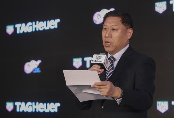 Ma Chengquan, CEO de la Súper Liga, el hombre responsable de aunar voluntades para convertir al fútbol en un negocio hipermillonario