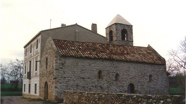 La iglesia de Sant Pau de Riu-sec, en Sabadell
