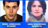Sara Majarenas, junto con otro etarra detenido en Valencia en la misma operación