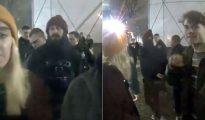 La detención de Shia LaBeouf fue captada en un video